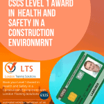 CSCS Level 1 Award In Health and Safety in a Construction Environment